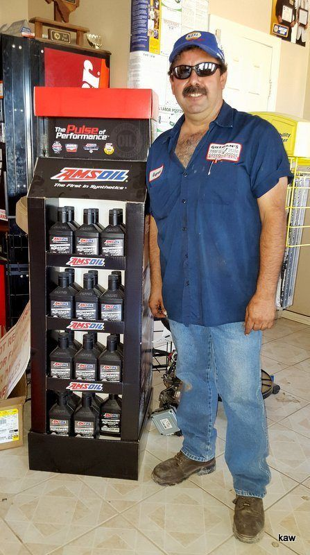 Photo of Eddie Guzman, Independent AMSOIL Dealer, Mission, TX